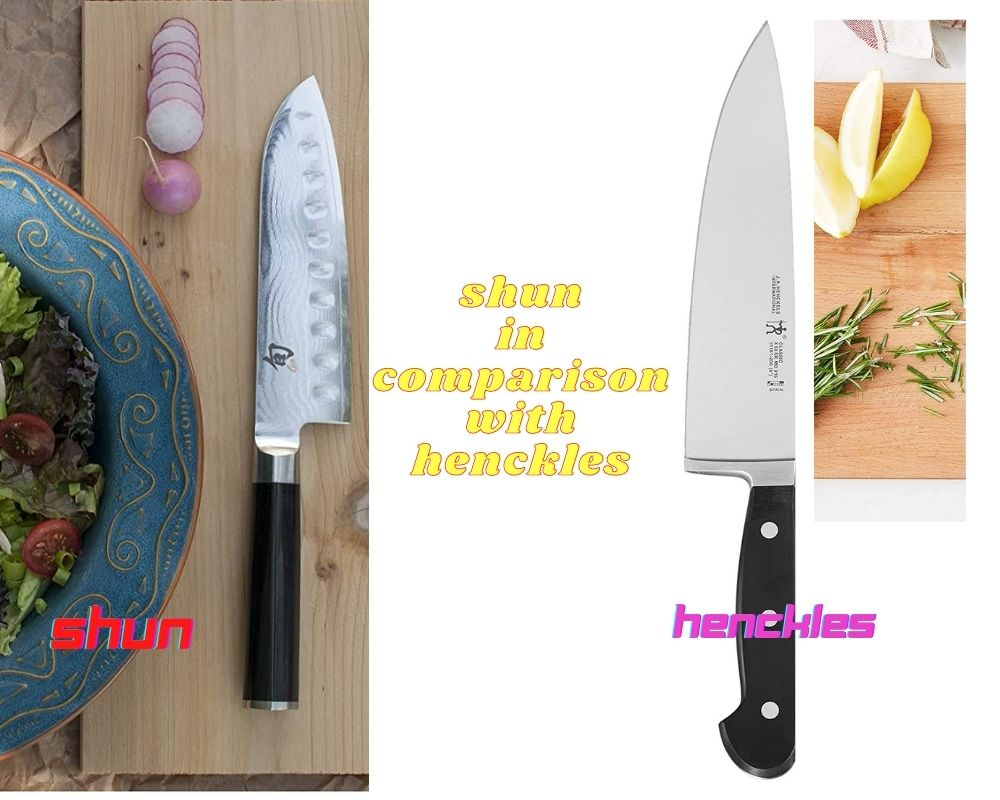 Shun Vs Henckels- Which One to Pick