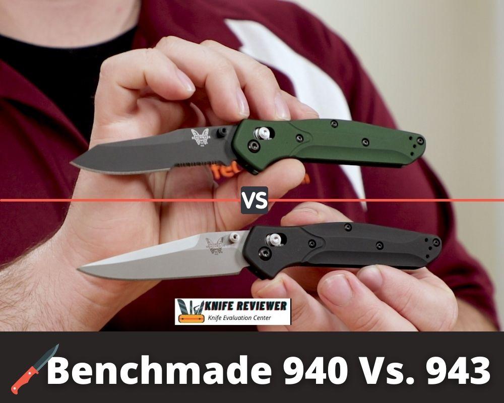 Benchmade 940 Vs. 943