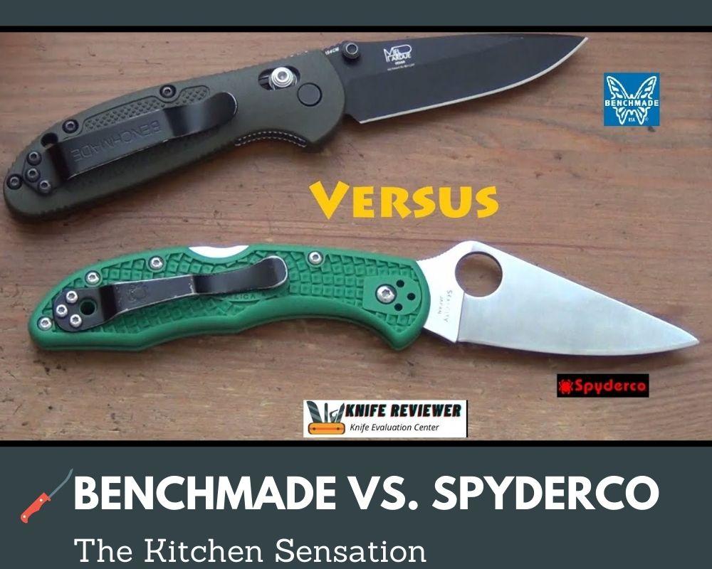 Benchmade Vs. Spyderco Knives