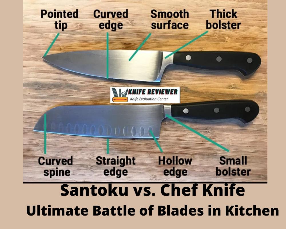 Santoku vs. Chef Knife-Ultimate Battle of Blades in Kitchen