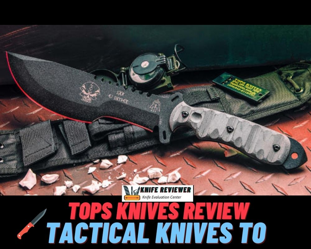 Tactical Knives To Survive In The Wilderness