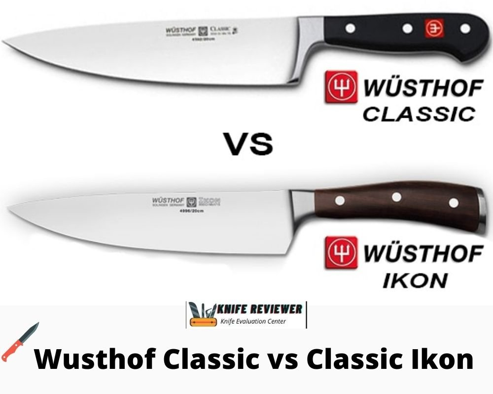 Wusthof Classic vs Classic Ikon