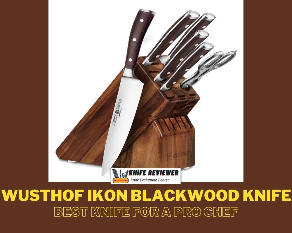 Wusthof ikon blackwood knife