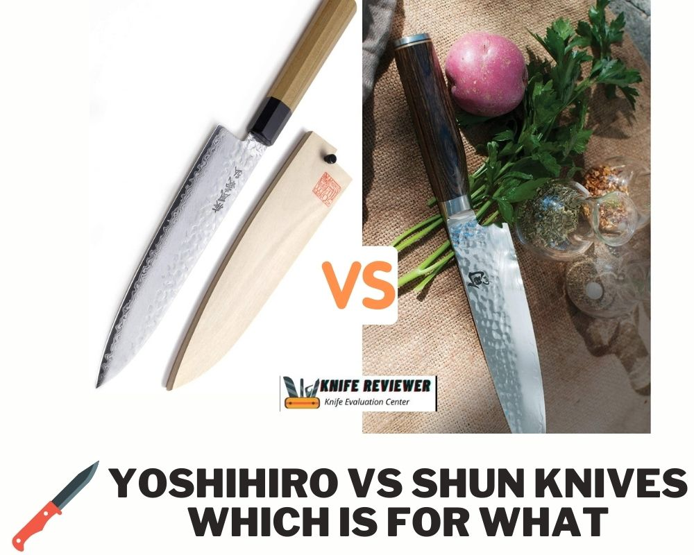 Yoshihiro Vs Shun Knives-which Is For What