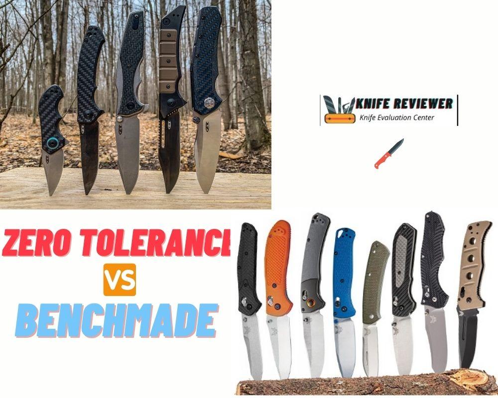 Zero Tolerance Vs. Benchmade Knives